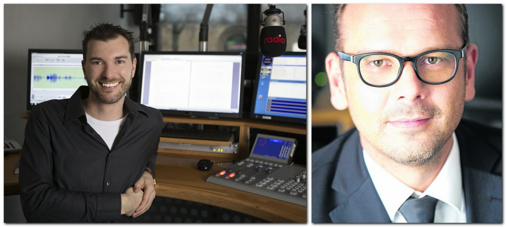 Oliver Rose (links) folgt Ingo Toelle (r) an die Spitze der Redaktion von Radio Westfalica. Fotos: rdaio Westfalica, Steffi Behring