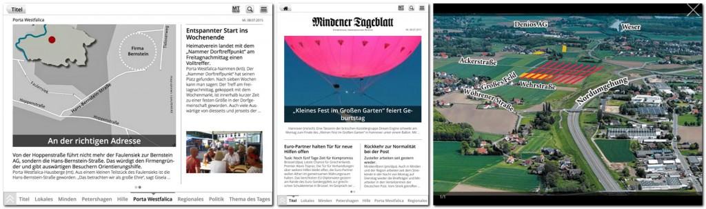 """... Mit der jüngsten """"Moellpflege"""" orientiert sich das ePaper für Mobilgeräte auch in der """"Artikel""""-Version noch konsequenter an der abgeschlossenen Zeitung ..."""
