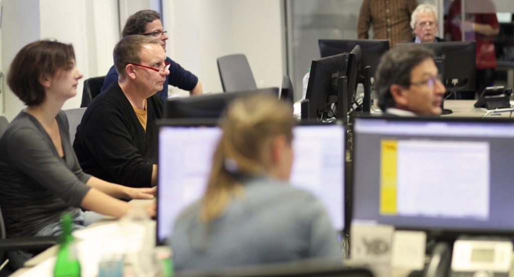 Ingo Prieß war für zwei Wochen  als Praktikant in der Redaktion des Mindener Tageblattes. Foto: Alex Lehn