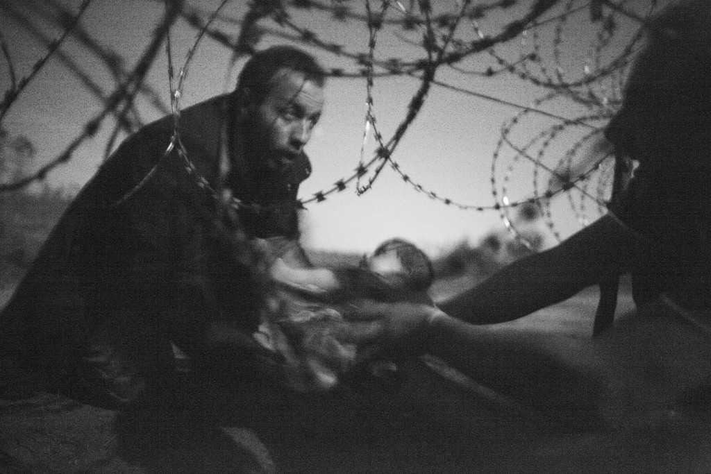 Das Welt-Pressefoto des Jahres 2016.Foto:  World Press Photo Foundation /  Warren Richardson