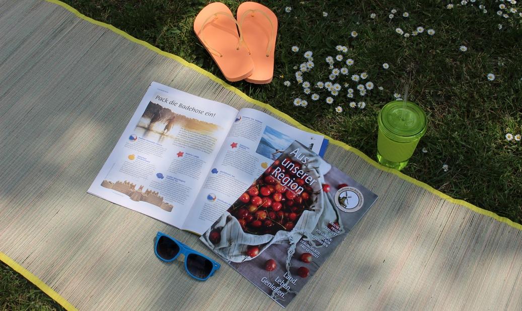 """Das MT-Magazin """"Aus unserer Region"""" liegt heute der gedruckten Ausgabe bei und wird im Lauf des tages auch als E-Magazin hochgeladen. Repro: MT"""