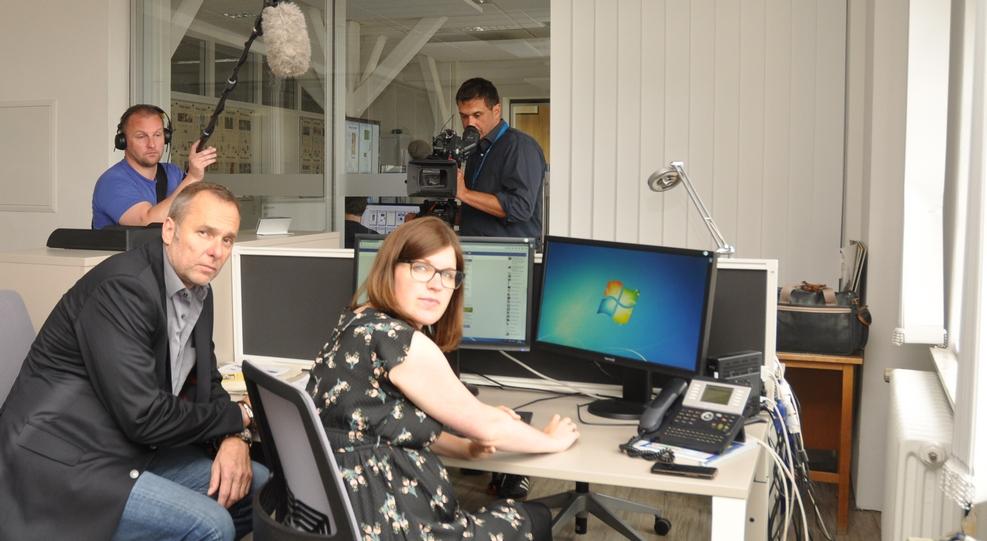 Ein WDR-Team befragte Nina Könemann. Foto: MT