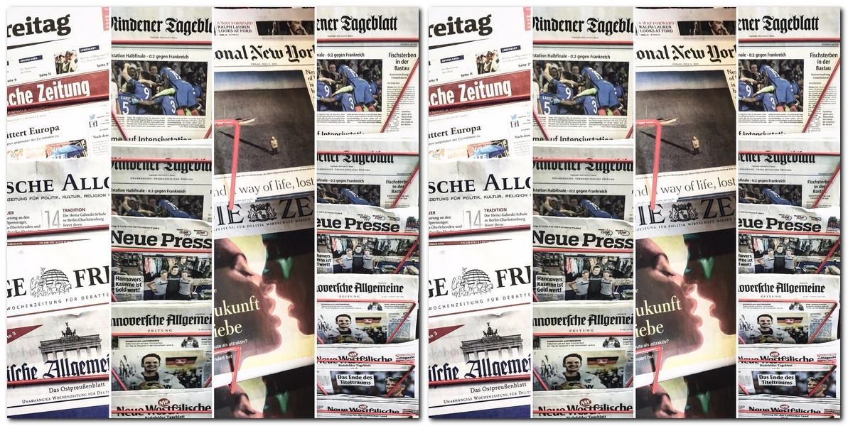 Auch gedruckte Zeitungen sind nach wie vor ein reichweitenstarker Informations- und Werbeträger. Foto: chp