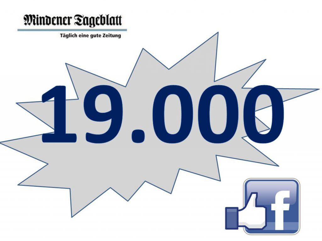 Wir feiern den 19.000 Facebook-