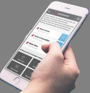 Die App gibt es für iOS-Geräte ebenso wie für Smartphones mit Android-Betriebssystem. Foto: Prisma