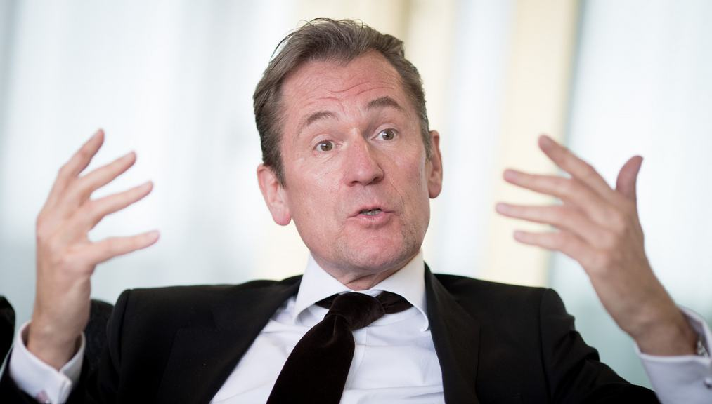 Matthias Döpfner im DPA-Interview. Foto: Kay Nietfeld/dpa