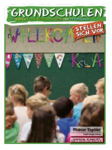 MT-Magazin Grundschulen stellen sich vor
