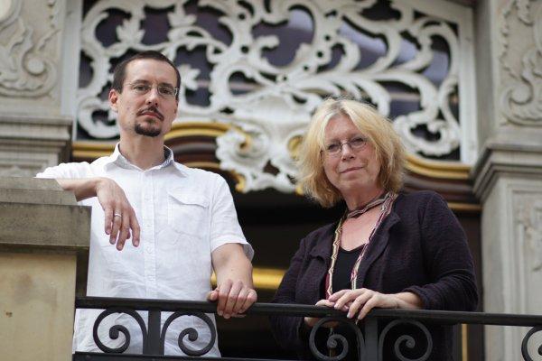 Henning Wandel und Monika Jäger. MT- (© Foto: Alex Lehn)