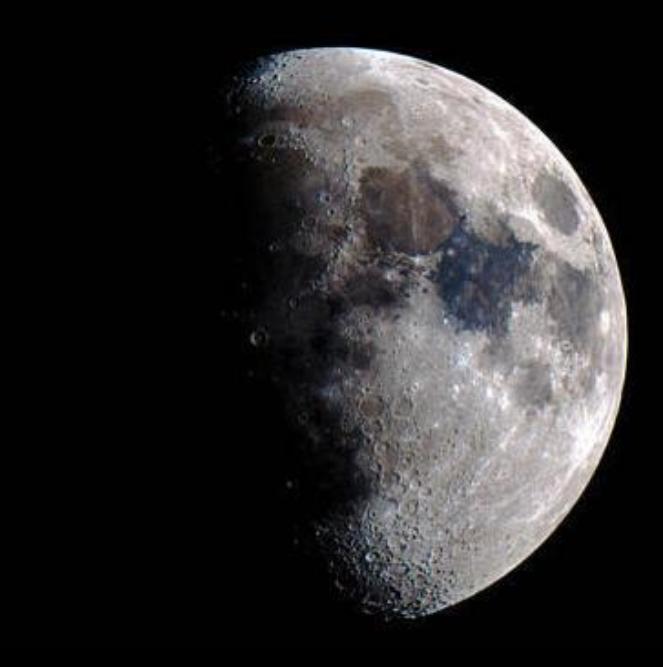 Der Mond Leserfoto: Willy Büttner
